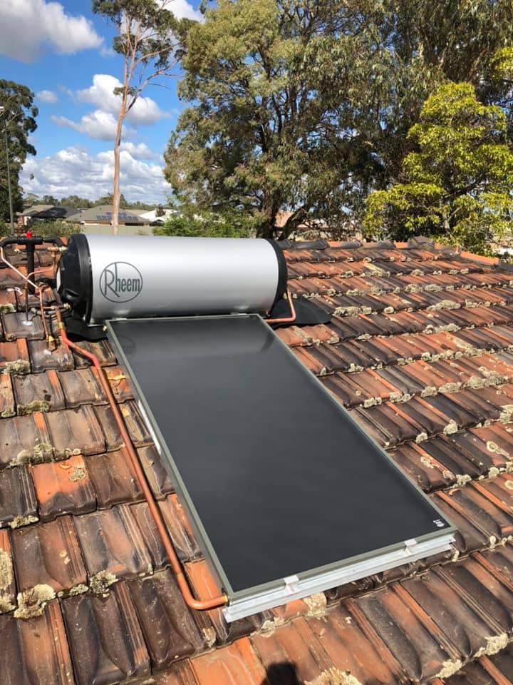 Solar Hot Water Installlation Perth